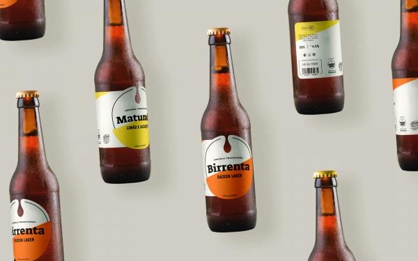 As Cervejas Grande Birra têm novo rótulo